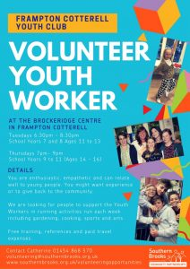Volunteer Youth Worker Frampton Cotterell