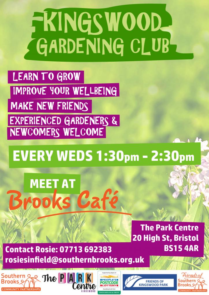kingswood gardening club poster