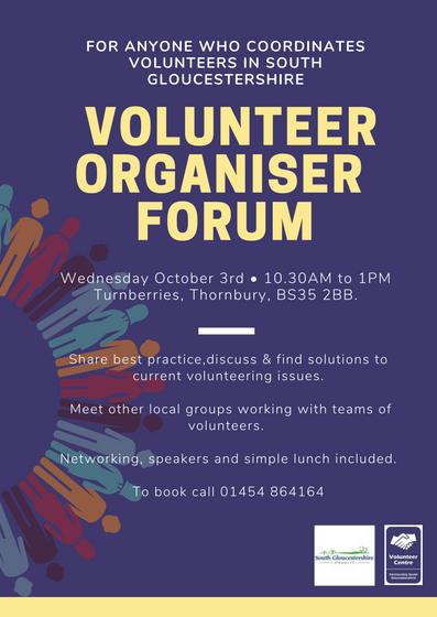 Volunteer Organisers Flyer