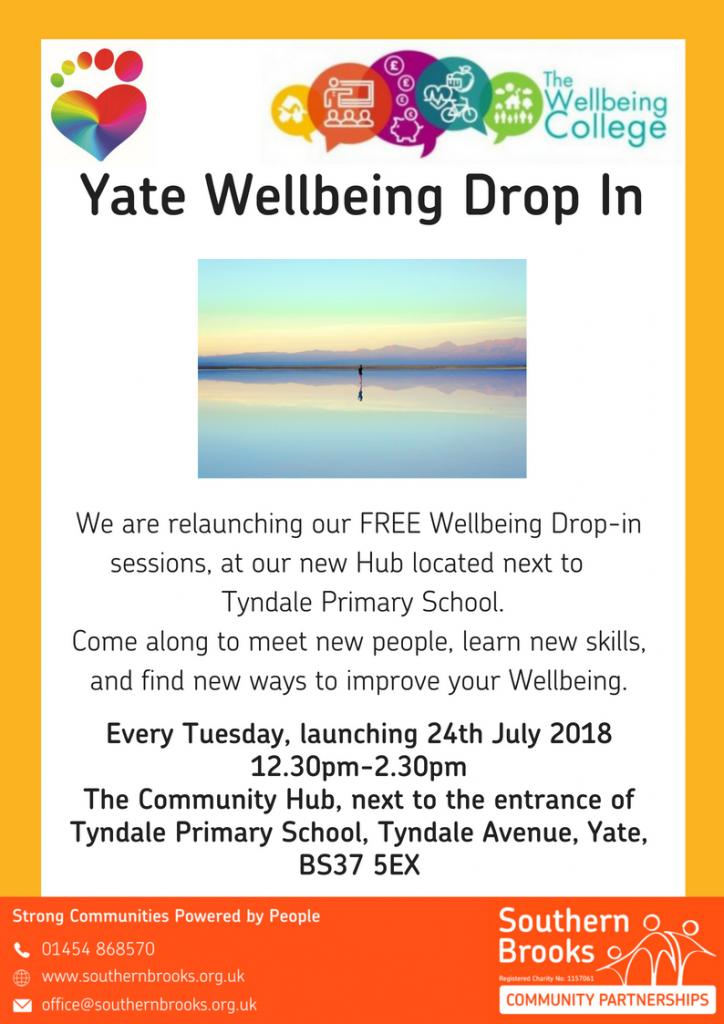 Wellbeing drop in Yate