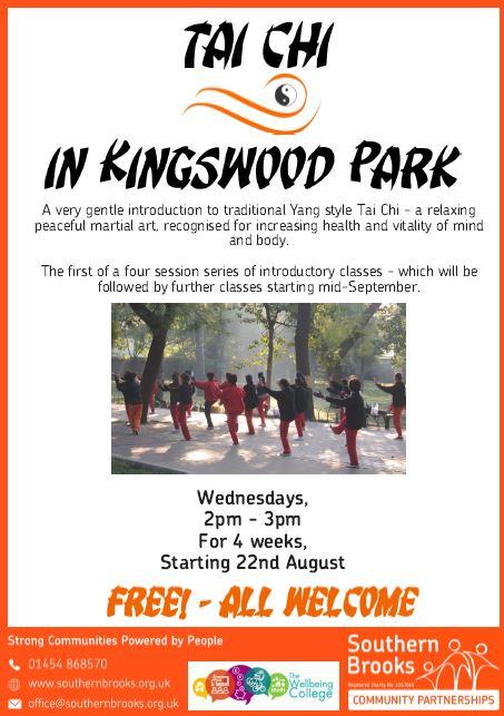 Tai Chi in Kingswood Park