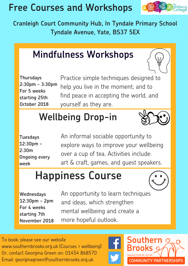 Yate Wellbeing Poster - Autumn