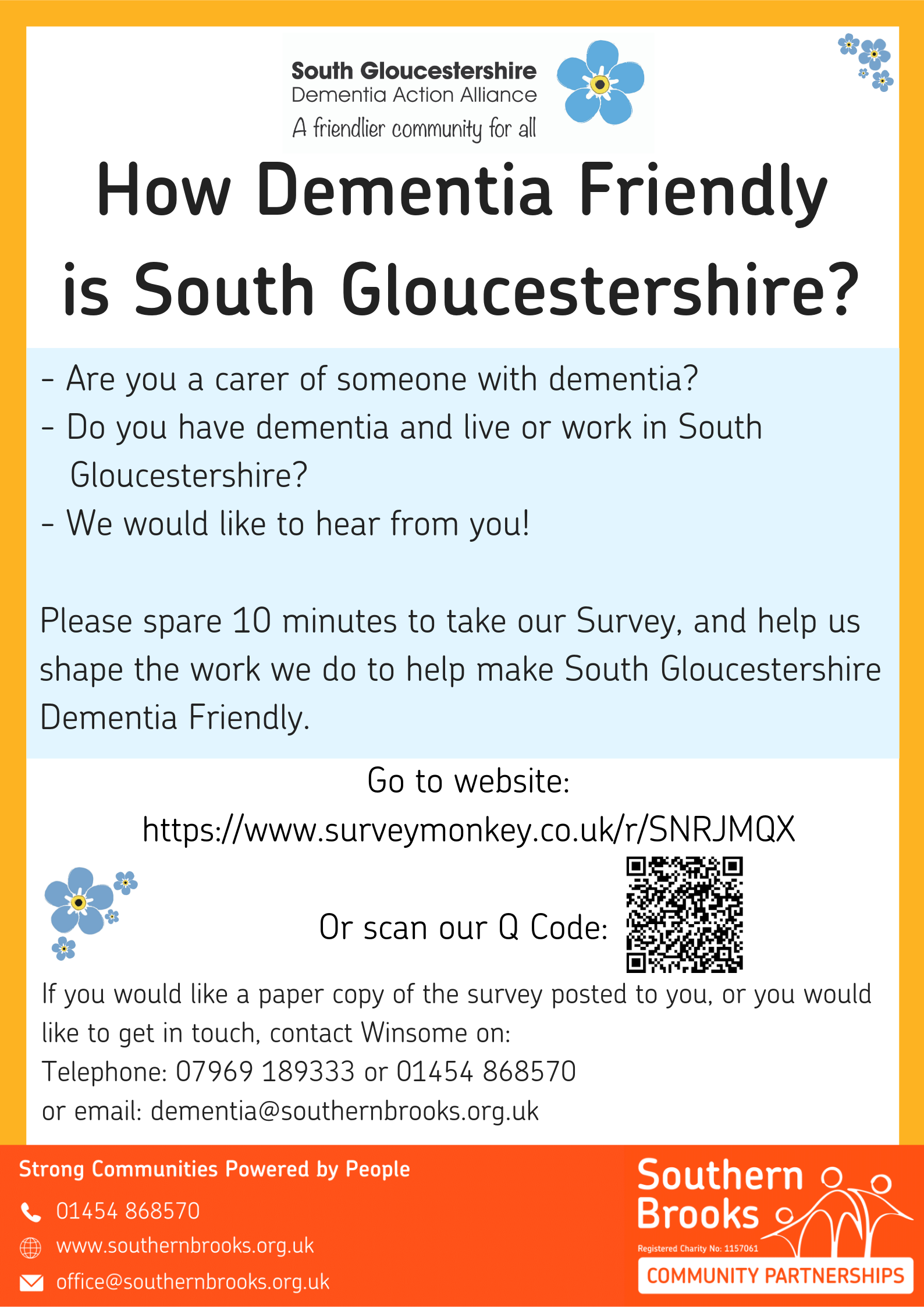 Copy of Dementia Survey poster