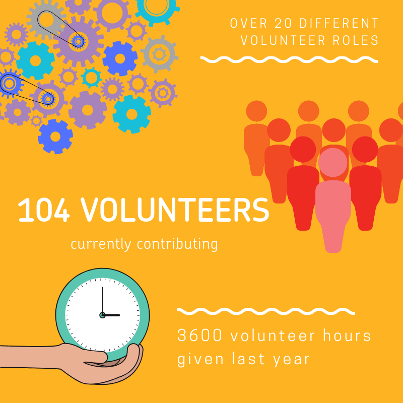 Volunteer infographic