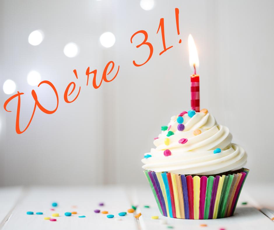 We're 31! (1)