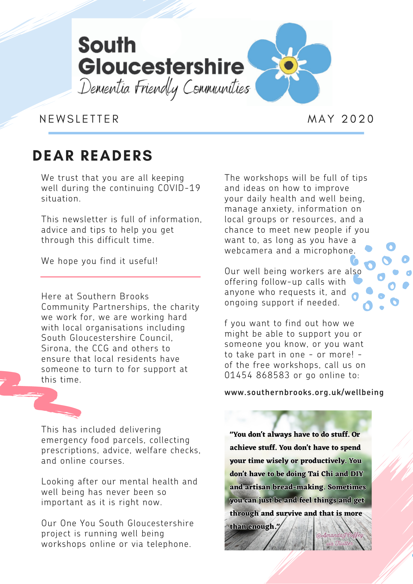 Dementia May 2020 newsletter (1)