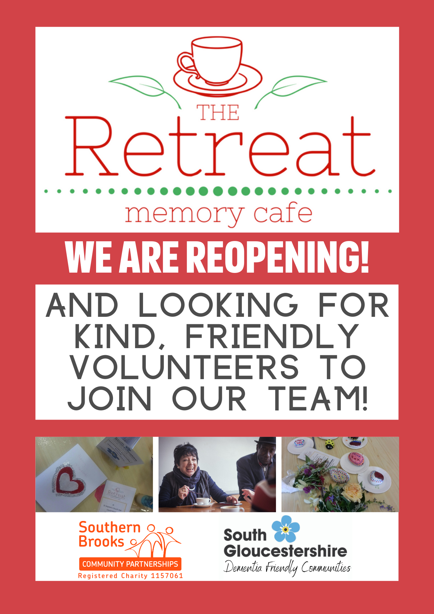 NEW Retreat volunteer ad